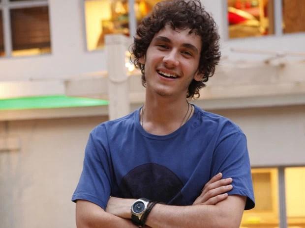 Guilherme Prates e Dinho tem muito em comum. Leia a entrevista com o ator e descubra! (Foto: Malhação / Tv Globo)