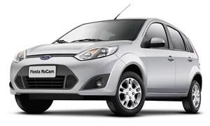 Ford Fiesta Rocam hatch (Foto: Divulgação)