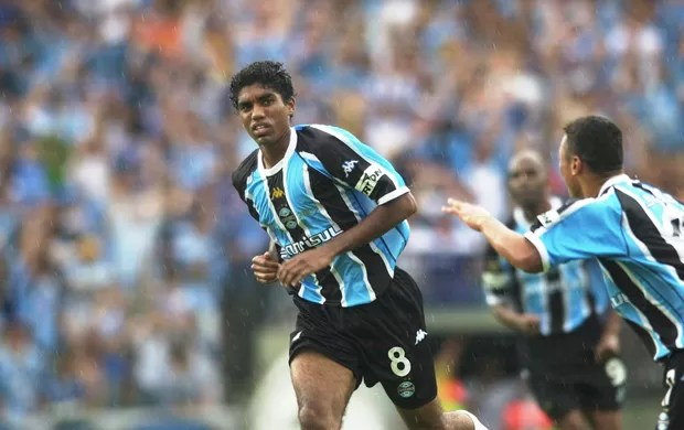 Bruno, ex-meia do Grêmio no Joias Perdidas (Foto: José Doval/Agência RBS)