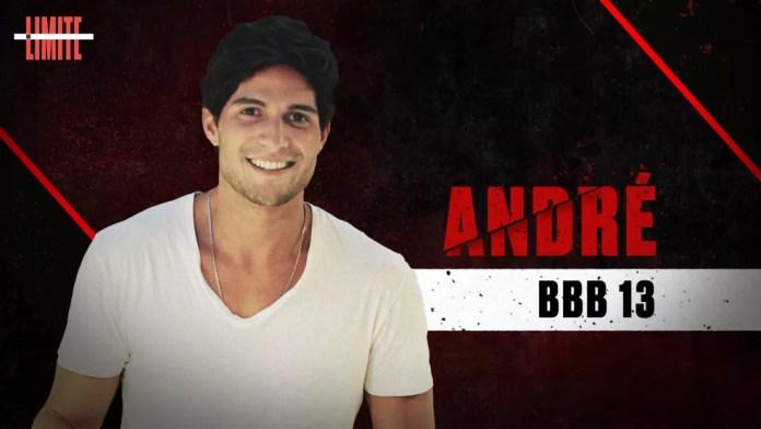André é um dos participantes do 'No Limite' — Foto: Globo