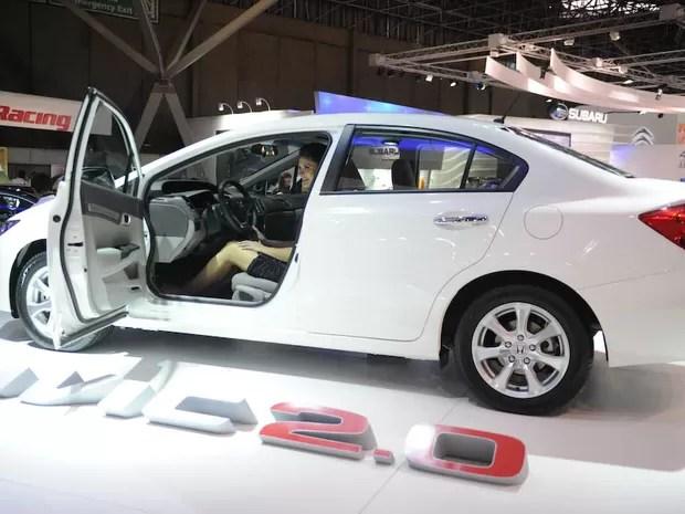 Honda Civic 2.0 (Foto: Raul Zito/G1)