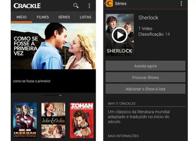 Aplicativo tem filmes e séries para assistir de forma gratuita (Foto: Reprodução/Barbara Mannara)