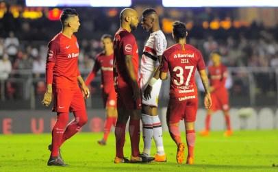 Inter e São Paulo travam confronto direto com semelhanças por recuperação na tabela — Foto: Marcos Ribolli