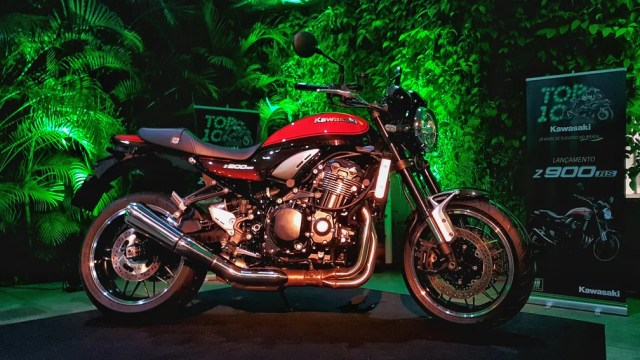 Kawasaki Z900 RS (Foto: Rafael Miotto/G1)