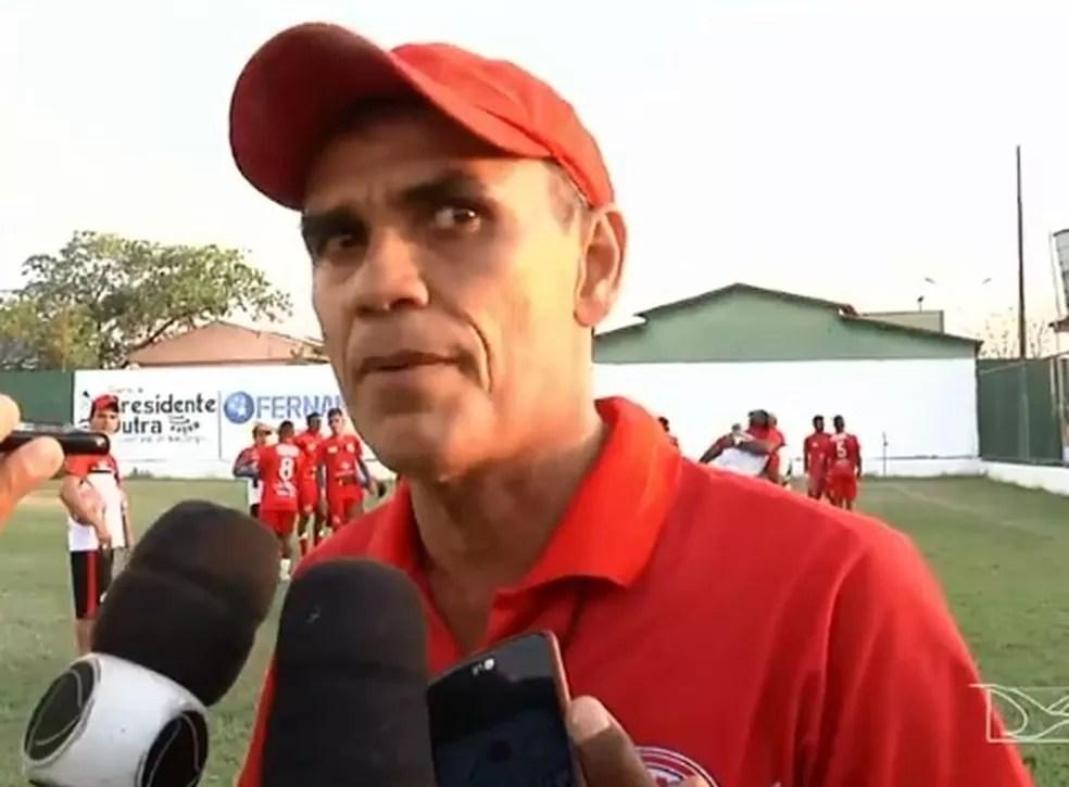 Marlon Cutrim, técnico do Juventude — Foto: Reprodução / TV Mirante