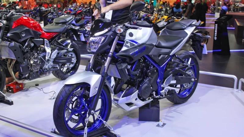 Yamaha MT-03 (Foto: Rafael Miotto / G1)