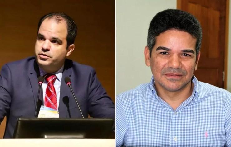 João Paulo Setti Aguiar será o chefe da Procuradoria Geral do Estado (PGE) e Anderson Abreu assume o Detran — Foto: Assessoria