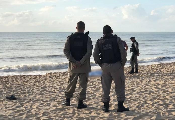 Corpo de Natália Donato de Lima foi encontrado na praia do Bessa, em João Pessoa — Foto: Walter Paparazzo/G1/Arquivo