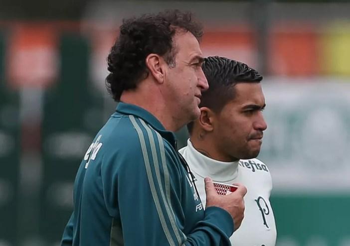 O técnico Cuca terá uma semana de treinos até o próximo jogo do Palmeiras (Foto: Cesar Greco / Ag. Palmeiras)