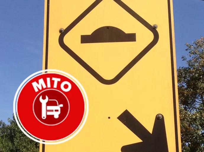 Mito ou verdade: atravessar lombada com o carro na diagonal