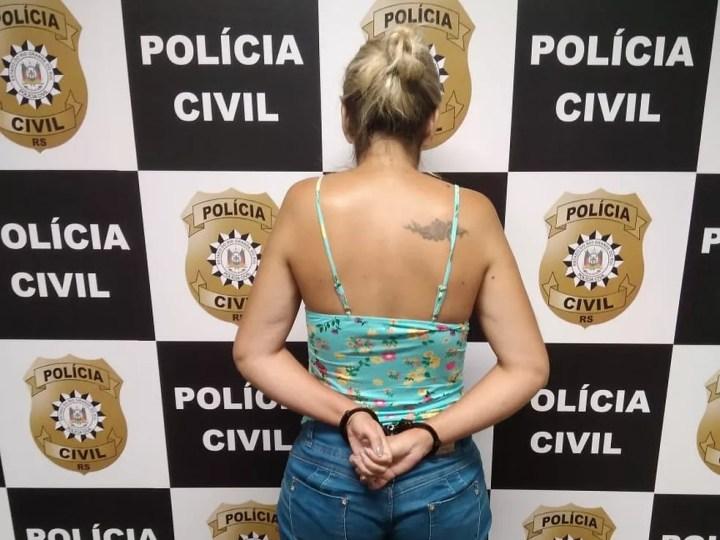 Mulher é presa em flagrante por forjar sequestro e pedir resgate ao marido, diz polícia — Foto: Polícia Civil/Divulgação