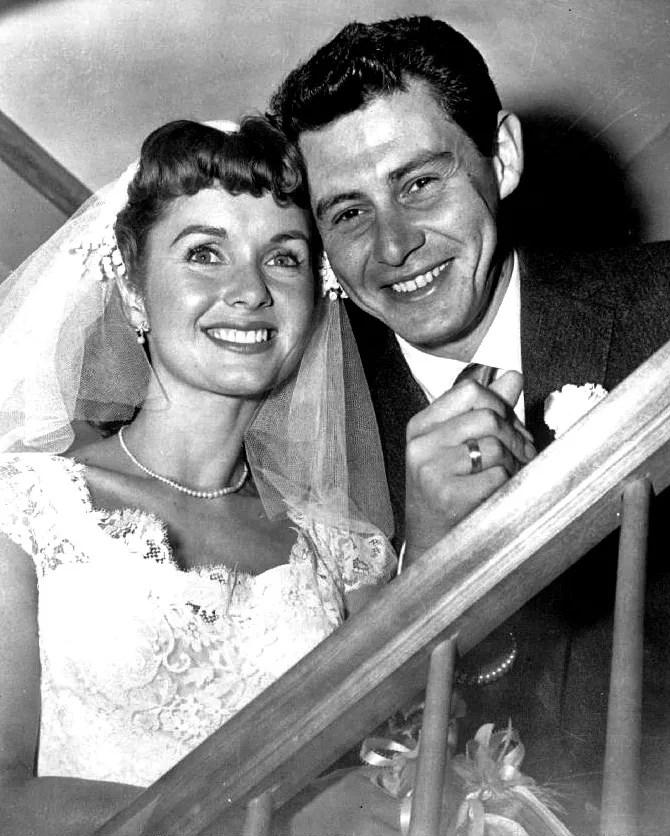 Debbie Reynolds e Eddie Fisher, pais de Carrie Fisher (FOTO: WIKIMEDIA)