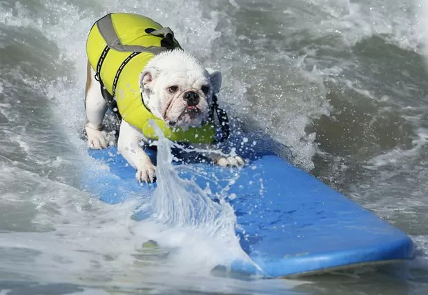 Competição foi realizada em praia de Huntington Beach, no estado da Califórnia.  (Foto: Lucy Nicholson/Reuters)
