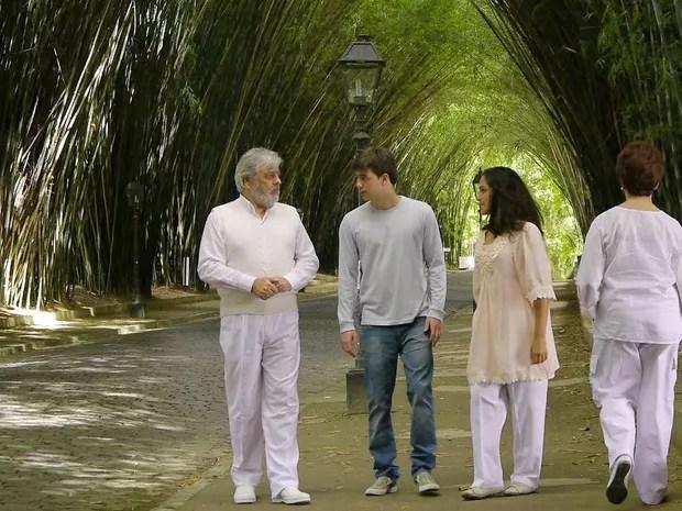 Cena do filme Deixe-me Viver gravada no Nova Friburgo Country Clube (Foto: Divulgação / Dugin Assessoria)