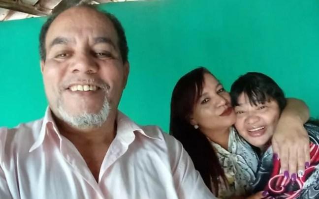 João Batista Gomes, a sobrinha Irene Lúcia Gomes e a esposa dele, Sueli Pereira de Matos Gomes, morrem em acidente na GO-222 em Anápolis — Foto: Mauro Severiano/ Arquivo pessoal