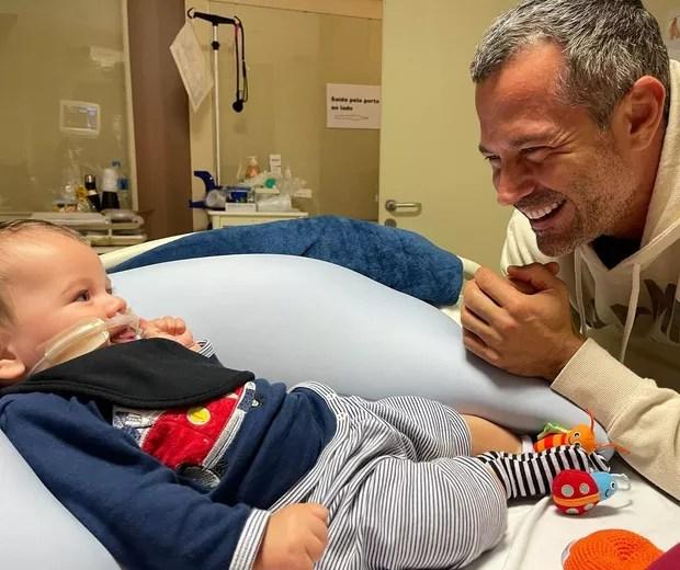 Malvino Salvador fala sobre internação do filho Rayan - Quem | QUEM News