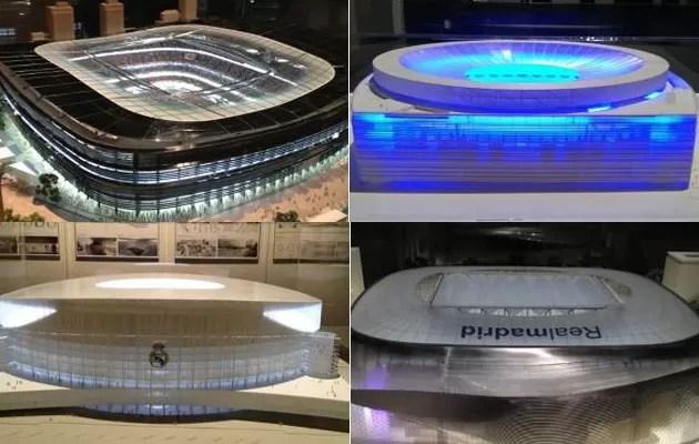 Santiago Bernabéu projeto reforma (Foto: Reprodução / Marca)