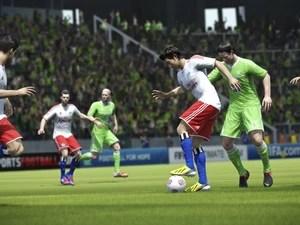 Tela do novo game Fifa 14, da Electronic Arts. (Foto: Divulgação/EA)