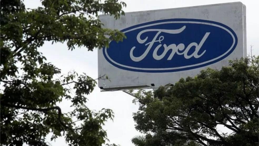 Ford anunciou em janeiro o fim da produção de veículos no Brasil e o fechamento de suas fábricas — Foto: Carla Carniel/Reuters/Via BBC