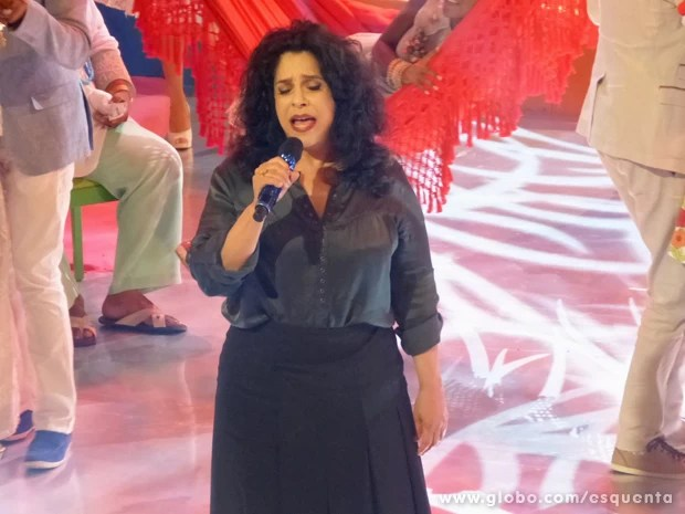 Gal Costa é a grande homenageada do Esquenta! (Foto: Esquenta/TV Globo)