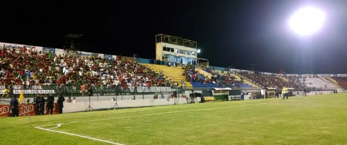 Estádio Romeirão recebe Guarani de Juazeiro x Fortaleza, pela Taça Fares Lopes (Foto: Juscelino Filho)