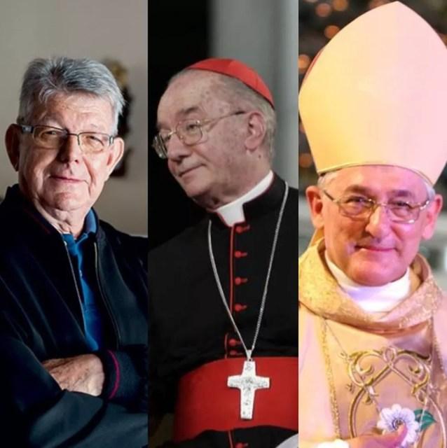 Outros três brasileiros foram eleitos para participar do conselho pós-sinodal: Dom Erwin Krautler, Cardeal Cláudio Hummes e Dom Alberto Taveira. — Foto: Divulgação