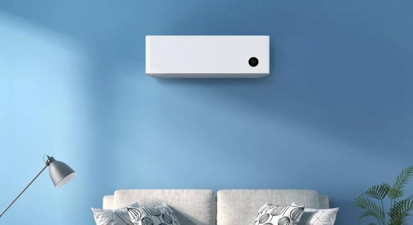 Ar-condicionado tem foco na eficiência energética — Foto: Divulgação/Xiaomi