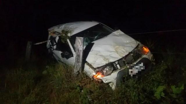 Ex-deputado morreu em acidente na TO-070 (Foto: Débora Ciany/TV Anhanguera)