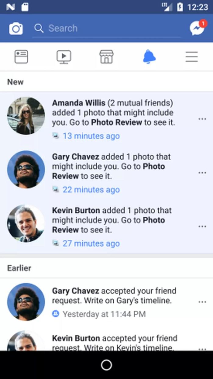 Facebook irá notificar quando alguém postar uma foto em que o usuário possa estar, mesmo se ele não tiver sido marcado (Foto: Divulgação)