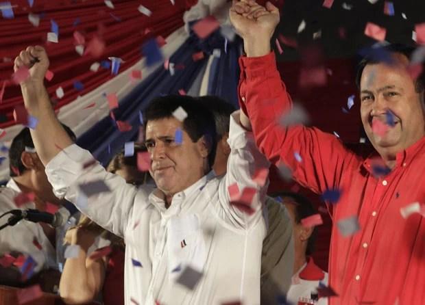 Horacio Cartes é eleito o novo presidente do Paraguai (Foto: Reuters)