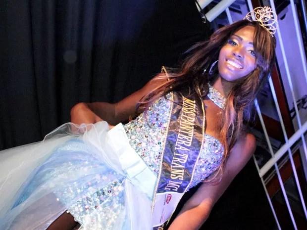 Representante de Betim foi eleita a miss pantera trans (Foto  Alex Contri    Divulgação c04472995a4