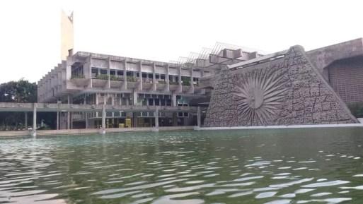 Reitoria da Universidade Federal do Rio Grande do Norte (Foto: Igor Jácome/G1)