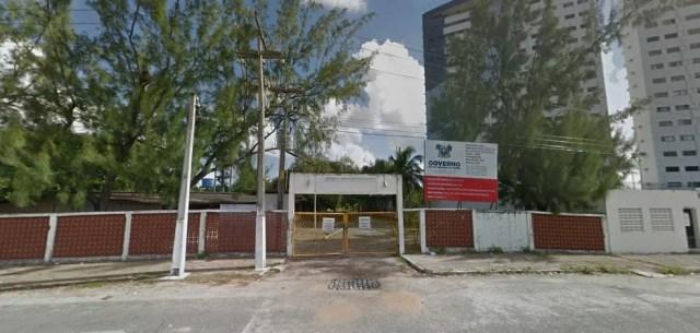 Escola Estadual José Fernandes Machado, em Ponta Negra — Foto: Google Street View