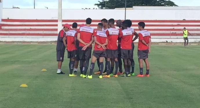 Sergipe, João Hora, treino (Foto: Felipe Martins / CSS)