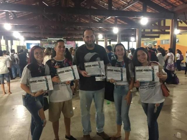Projeto venceu na categoria Desenvolvimento Tecnológico na 8ª edição da Mostra de Iniciação Científica no Pantanal — Foto: Admilson Costa da Cunha/Arquivo pessoal