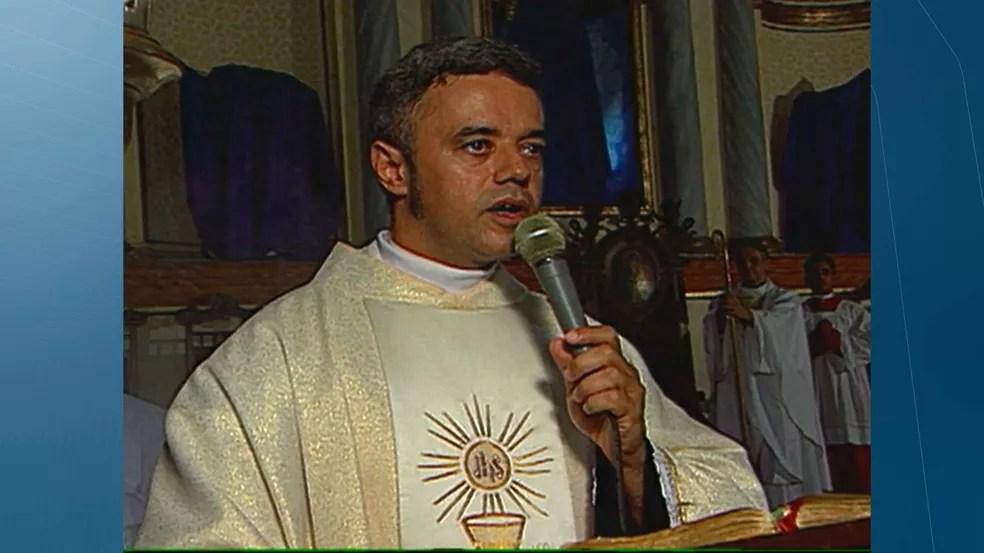Monsenhor Jaelson Alves de Andrade — Foto: TV Cabo Branco/Reprodução