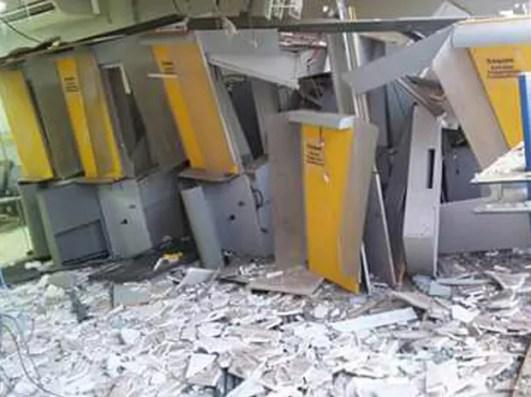 Agência do BB de Governador Eugênio Barros (MA) foi atacada por bandidos (Foto: Divulgação)