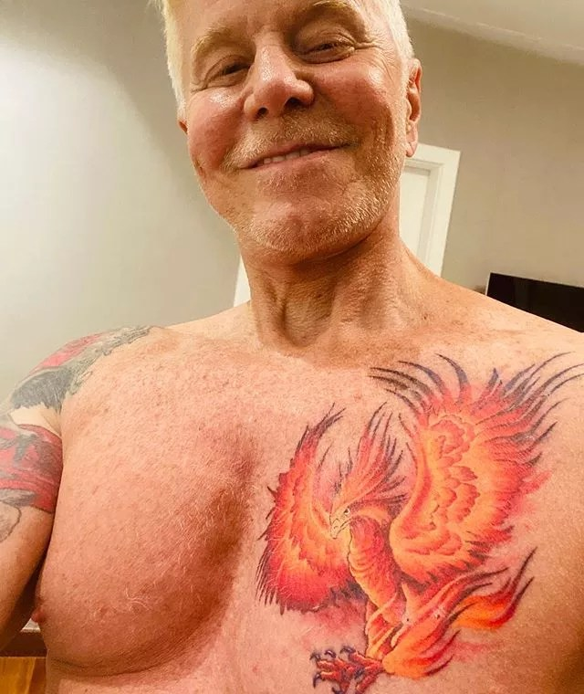 Miguel Falabella mostra nova tatuagem (Foto: Reprodução/Instagram)