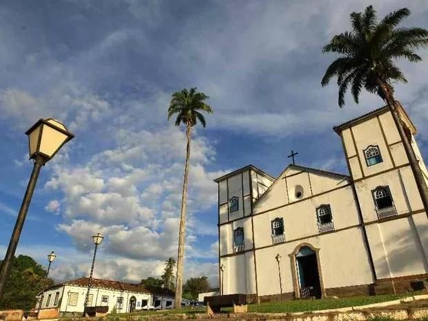 Igreja Matriz de Pirenópolis teve as obras iniciadas entre os anos de 1728 e 1732 (Foto: Wildes Barbosa/O Popular)