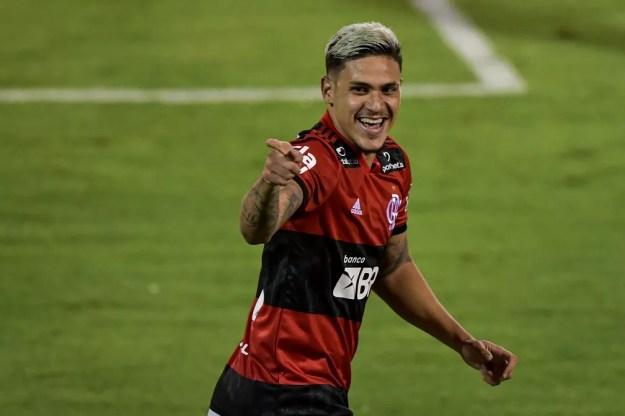 Pedro Volta Redonda x Flamengo semi Carioc — Foto: Thiago Ribeiro/AGIF