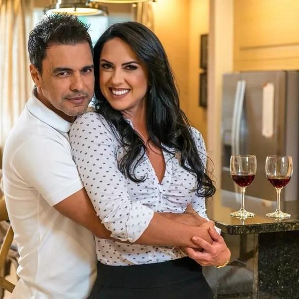 Zezé Di Camargo e Graciele Lacerda (Foto: Instagram/Reprodução)