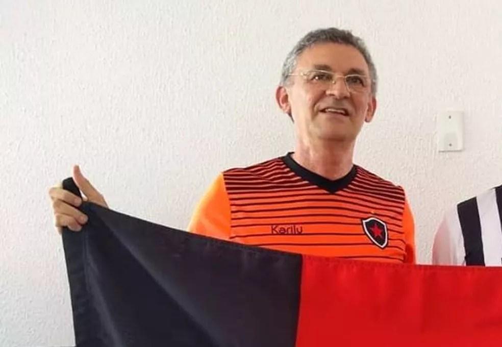 Orlando Soares, eleito como vice no último pleito, vai em busca da reeleição — Foto: Divulgação/Botafogo-PB