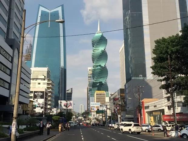Cidade do Panamá é espécie de Dubai das Américas (Foto: BBC Brasil)