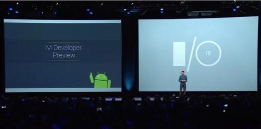 Android M está disponível na versão prévia e para apenas alguns smartphones (Foto: Reprodução/Google)