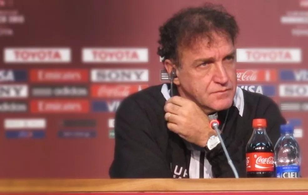 Cuca recusou o convite do Atlético-MG e disse que só voltará a trabalhar depois da Copa da Rússia (Foto: Alexandre Alliatti)