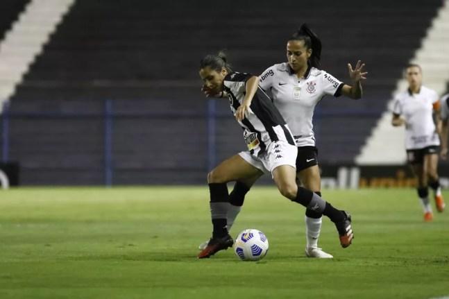 Corinthians estava 100% no Brasileiro Feminino até a última rodada  — Foto: Rodrigo Gazzanel/Agência Corinthians