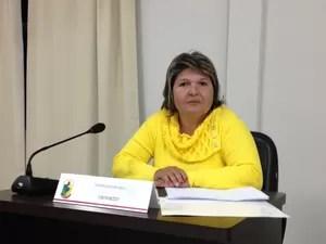 Gilmara não votou nela mesma (Foto: Larissa Vier/RBS TV)
