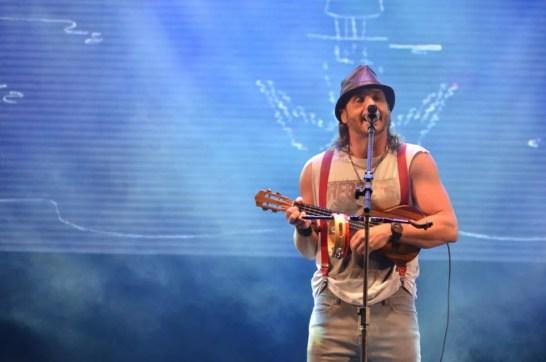 Falamansa foi a última atração a se apresentar no Festival Viva Dominguinhos 2017 (Foto: Edson Fernandes/FH Studios)