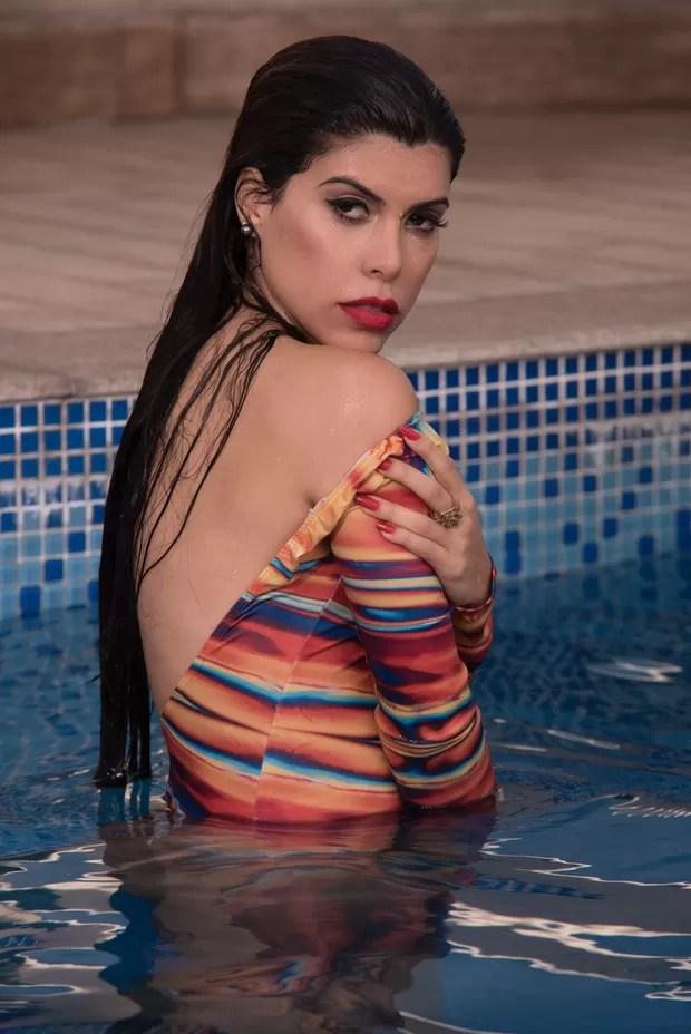 Priscila Rocha posa sensual (Foto: MF Models/Divulgação)