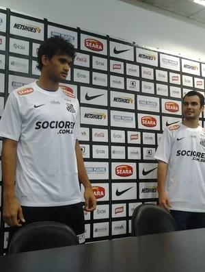 Apresentação de Willian José, Santos (Foto: Lincoln Chaves)
